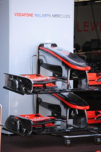 2010 McLaren F1 nose and wing