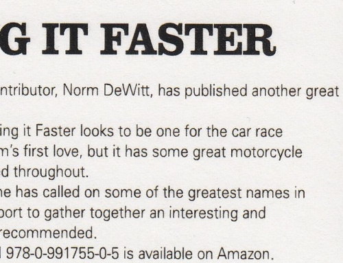 Making it Faster | Classic Racer Magazine (UK) Review